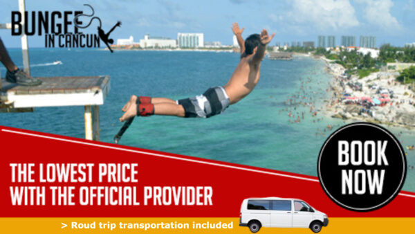Bungee in Cancun with transportation included